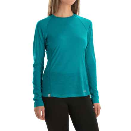 Rab Meco 120 Base Layer Top - Long Sleeve (For Women) in Aqua - Closeouts