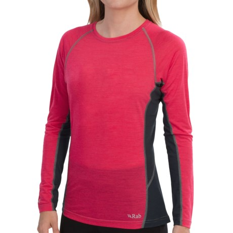 Rab Meco 120 Base Layer Top Long Sleeve (For Women)