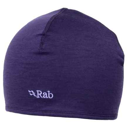 Rab MeCo 165 Beanie - Merino Wool (For Men) in Amethyst - Closeouts