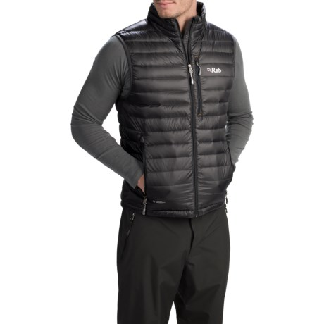 photo: Rab Microlight Vest down insulated vest