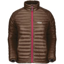 Rab Microlight Jacket - 750 Fill Power (For Women) in Peat - Closeouts