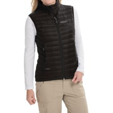 Rab Microlight Vest - 750 Fill Power (For Women) in Black - Closeouts