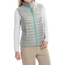 Rab Microlight Vest - 750 Fill Power (For Women) in Gargoyle - Closeouts