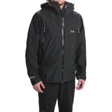 Rab Mountain Dru Jacket - Waterproof (For Men) in Black - Closeouts