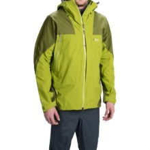 Rab Mountain Dru Jacket - Waterproof (For Men) in Pear - Closeouts