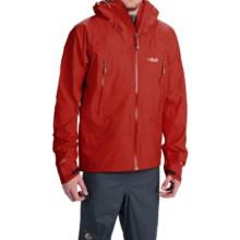 Rab Myriad Polartec® Neoshell® Jacket - Waterproof (For Men) in Rust - Closeouts