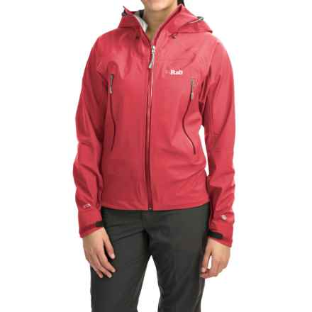 Rab Myriad Polartec® NeoShell® Jacket - Waterproof (For Women) in Poker - Closeouts