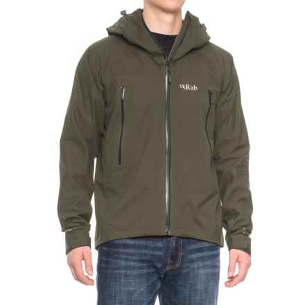 Rab Myriad Pro Polartec® NeoShell® Jacket - Waterproof (For Men) in Dark Camo - Closeouts