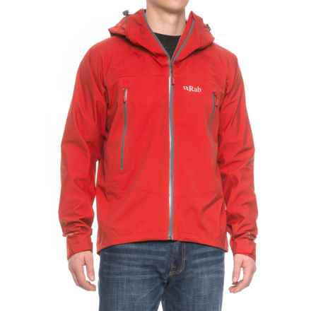 Rab Myriad Pro Polartec® NeoShell® Jacket - Waterproof (For Men) in Ember - Closeouts