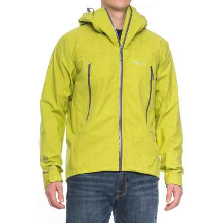 Rab Myriad Pro Polartec® NeoShell® Jacket - Waterproof (For Men) in Spring - Closeouts