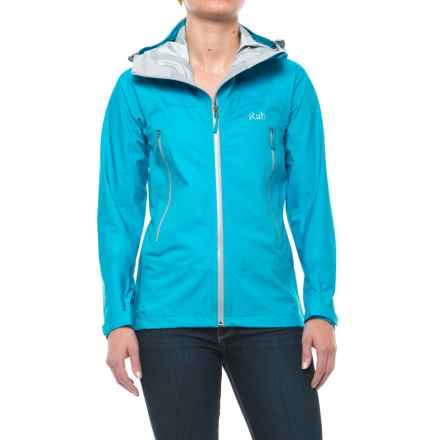 Rab Myriad Pro Polartec® NeoShell® Jacket - Waterproof (For Women) in Aqua - Closeouts