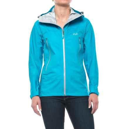 Rab Myriad Pro Polartec® NeoShell® Jacket - Waterproof (For Women) in Aqua - Closeouts