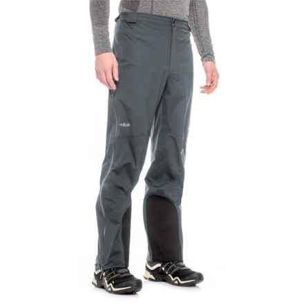 Rab Myriad Pro Polartec® NeoShell® Pants - Waterproof (For Men) in Beluga - Closeouts