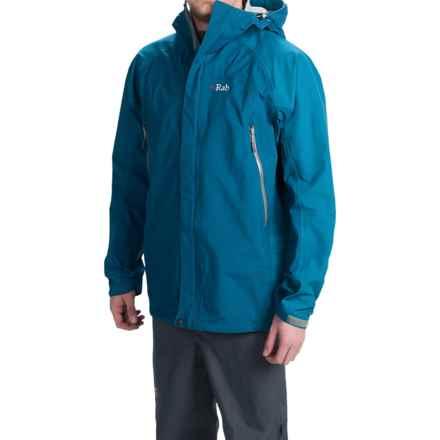 Rab Narvik Jacket - Waterproof (For Men) in Merlin/Blazon - Closeouts
