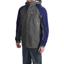 Rab Narvik Jacket - Waterproof (For Men) in Twilight/Dark Shark - Closeouts
