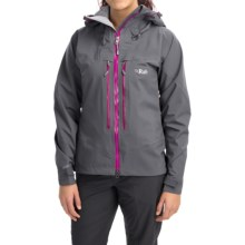 Rab Neo Guide Polartec® NeoShell® Jacket - Waterproof (For Women) in Shark - Closeouts