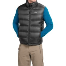 Rab Neutrino Down Vest - 800 Fill Power (For Men) in Black - Closeouts