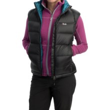 Rab Neutrino Down Vest - 800 Fill Power (For Women) in Black - Closeouts