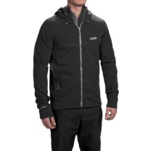 Rab Polartec® Power Stretch® Pro Fleece Hoodie (For Men) in Black - Closeouts