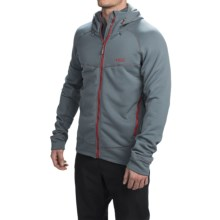 Rab Polartec® Power Stretch® Pro Fleece Hoodie (For Men) in Smoke - Closeouts