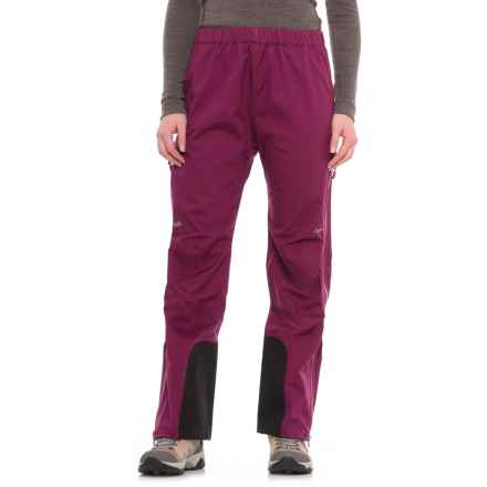 Rab Pro Polartec® NeoShell® Pants - Waterproof (For Women) in Poison - Closeouts