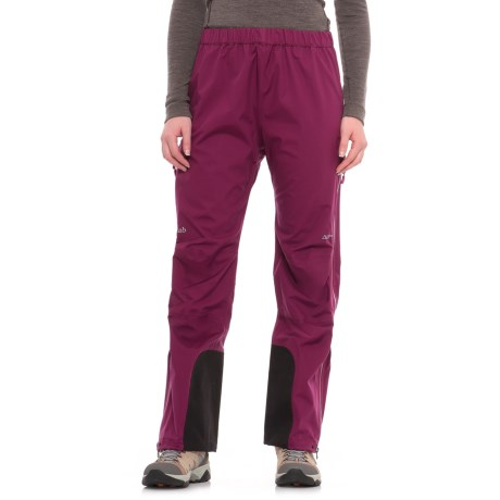 Rab Pro Polartec® NeoShell® Pants - Waterproof (For Women) in Poison