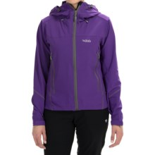 Rab Sawtooth Hooded Jacket (For Women) in Dark Orchid - Closeouts