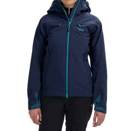Rab Sentinel Soft Shell Jacket (For Women) in Twilight/Tasman - Closeouts
