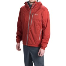 Rab Strata Hoodie - Insulated (For Men) in Rust - Closeouts