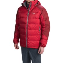 Rab Summit Down Jacket - 650 Fill Power (For Men) in Cayenne - Closeouts