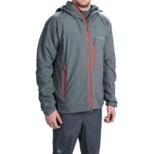 Rab Vapour Rise Soft Shell Jacket (For Men) in Smoke - Closeouts