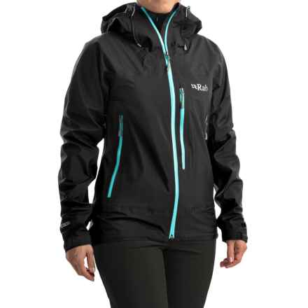 Rab Xiom Jacket - Waterproof (For Women) in Beluga - Closeouts