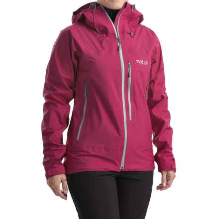 Rab Xiom Jacket - Waterproof (For Women) in Petal - Closeouts