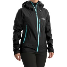 Rab Xiom Rain Jacket - Waterproof (For Women) in Beluga - Closeouts