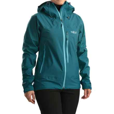Rab Xiom Rain Jacket - Waterproof (For Women) in Blazon - Closeouts