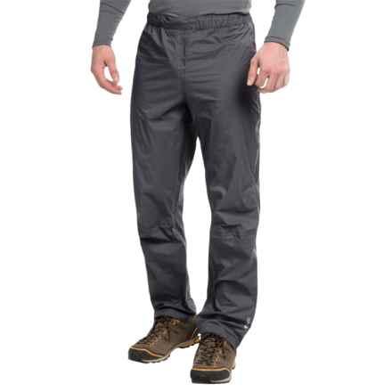 Rab Xiom Rain Pants - Waterproof (For Men) in Beluga - Closeouts