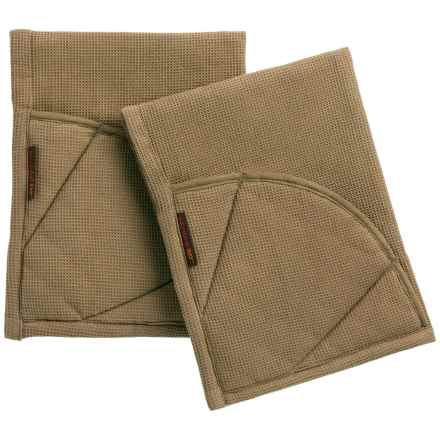 Rachel Ray Moppine Everyday Kitchen Towel - 2-Pack in Brown - Closeouts