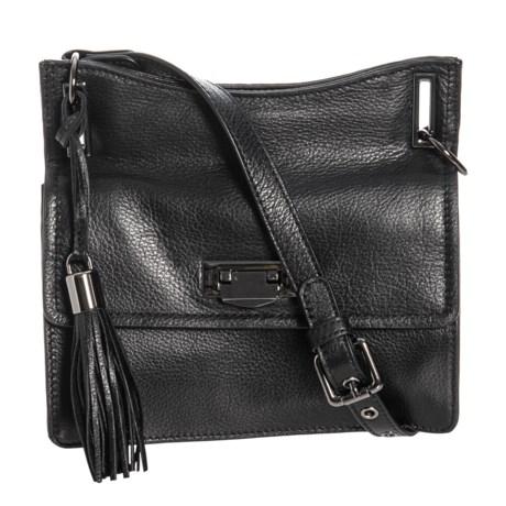 f0ac0ced6 Rachel Roy Small Accordion Crossbody Bag - Leather (For Women) in Black