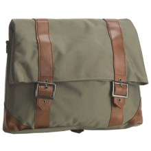 Racktime Wall-It Cycling Messenger Bag in Dusky Green - Closeouts