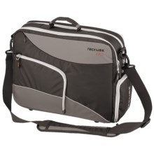 Racktime Work-It Shoulder Bag Bike Pannier in Asphalt Grey/Black - Closeouts