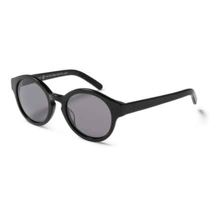 RAEN Flowers Sunglasses in Black/Black - Closeouts