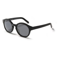 RAEN Flowers Sunglasses - Polarized in Matte Black/Black - Closeouts