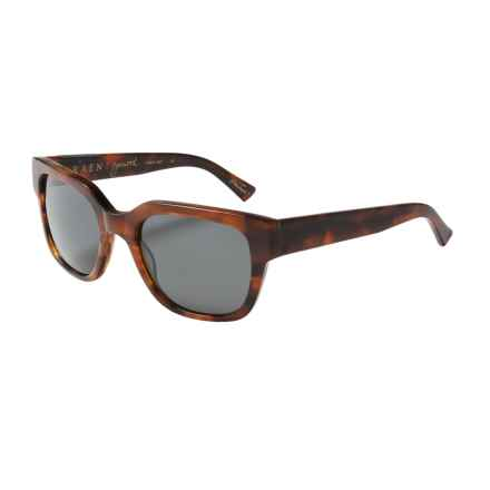 RAEN Garwood Sunglasses - Polarized in Matte Rootbeer/Black - Closeouts