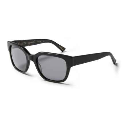 RAEN Garwood Wayfarer Sunglasses in Matte Black/Smoke - Closeouts