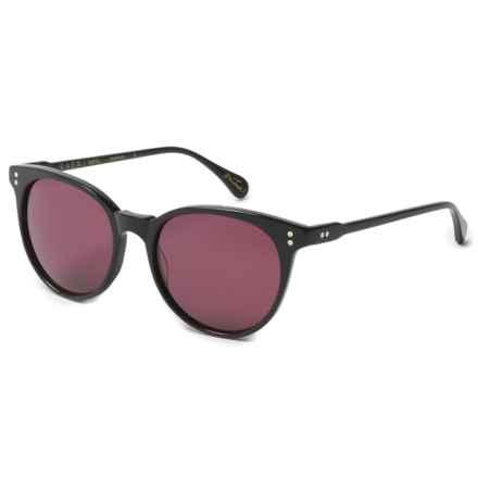 RAEN Norie Sunglasses in Black/Dark Rose - Overstock