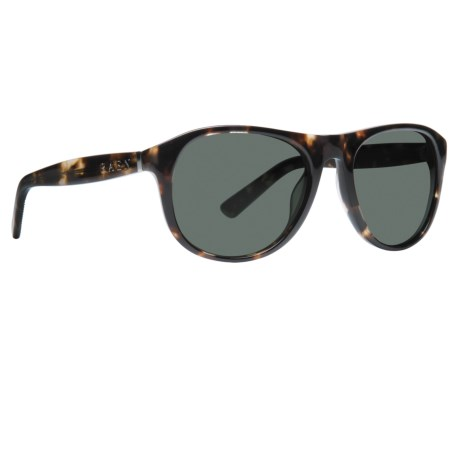 RAEN Optics Deakin Sunglasses in Brindle Tortoise/Green