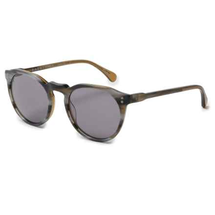 RAEN Remmy 49 Sunglasses in Cinder/Smoke - Overstock