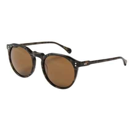 RAEN Remmy Sunglasses in Alder/Brown - Closeouts