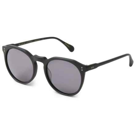 RAEN Remmy Sunglasses in Matte Black/Smoke - Closeouts