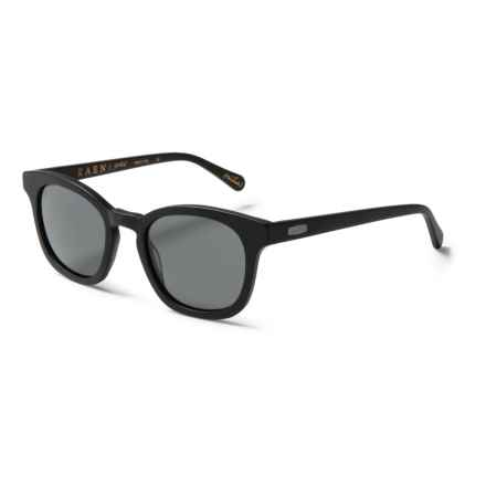 RAEN Suko Sunglasses - Polarized in Matte Black/Black - Closeouts